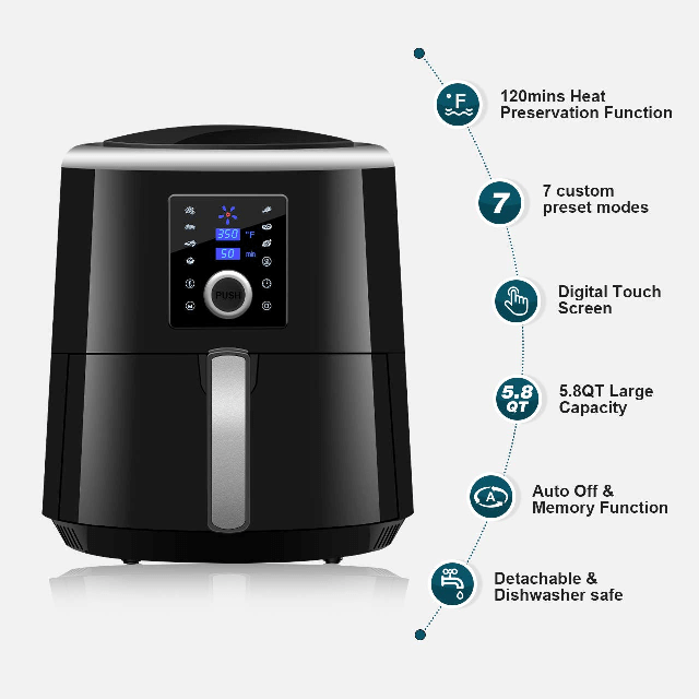 Habor air fryer xl