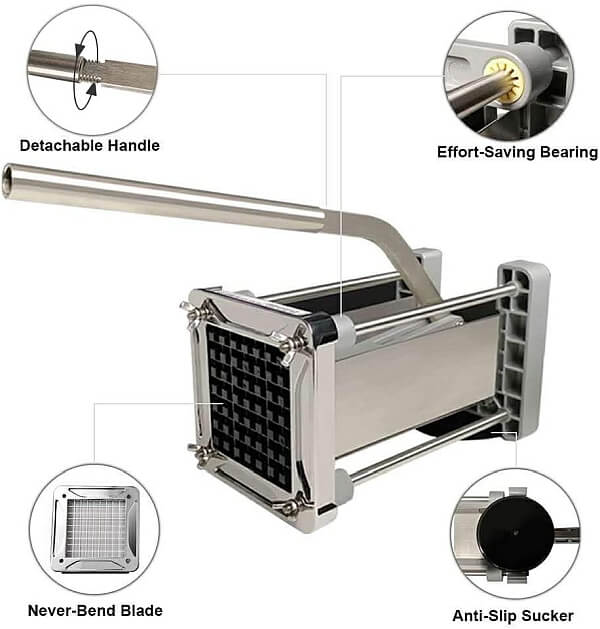 features of French fry cutter