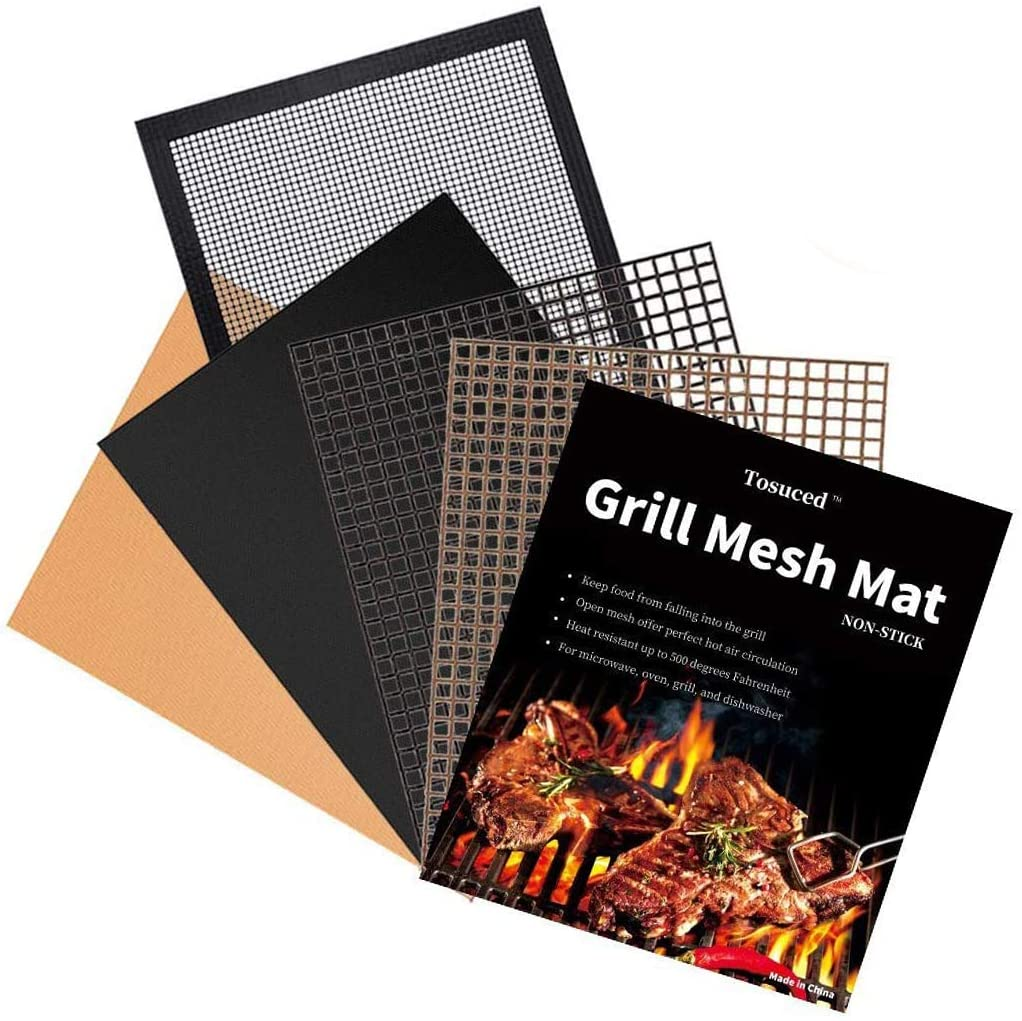 trimmable grill mats used in air fryers