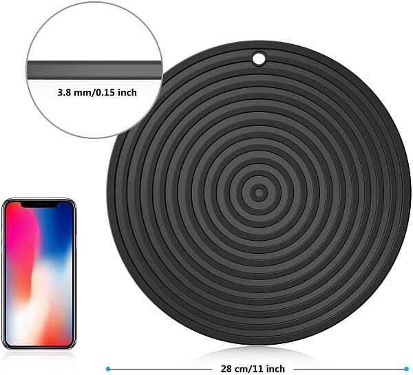 Silicone Trivet mat for air fryer