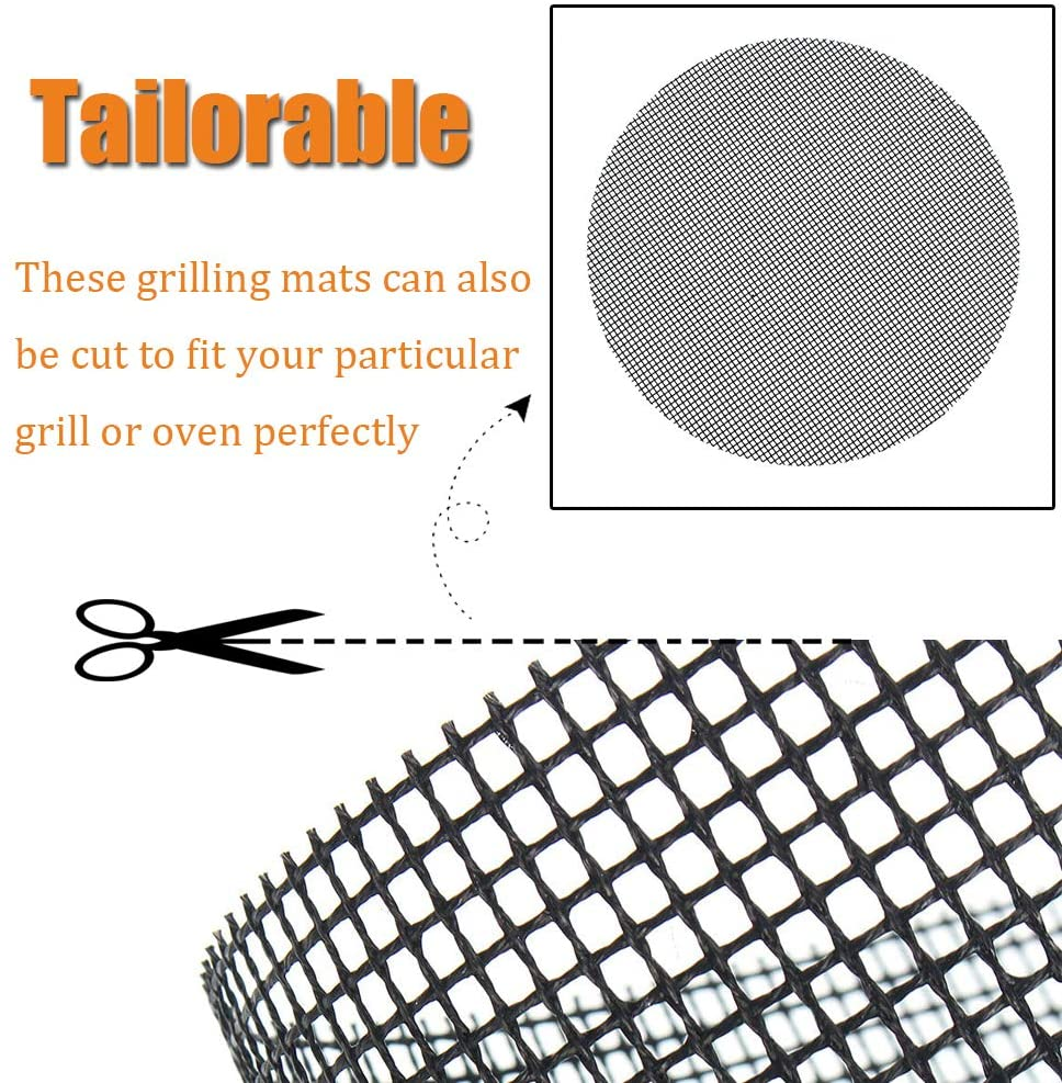 trimmable grill mat
